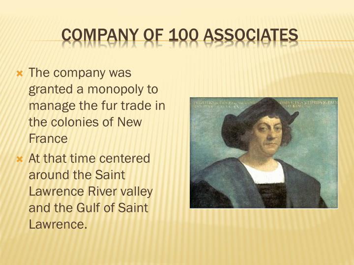 Company of 100 Associates
