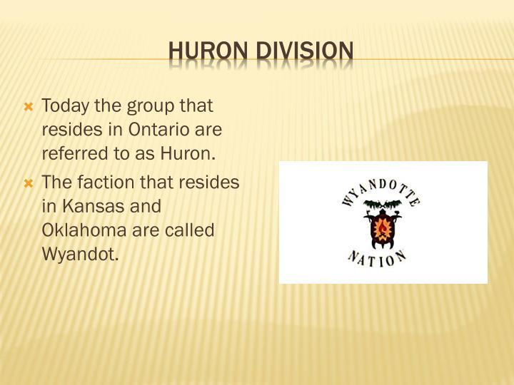 Huron Division