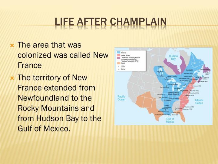 Life after Champlain
