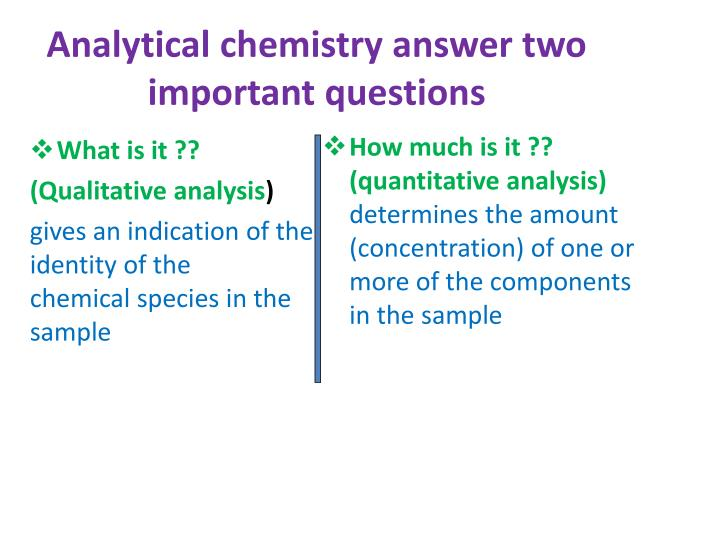PPT - Pharmaceutical Analytical Chemistry / PHC 213 PowerPoint Presentation - ID:2308145