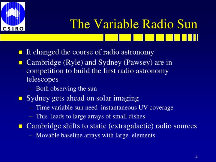 The Variable Radio Sun