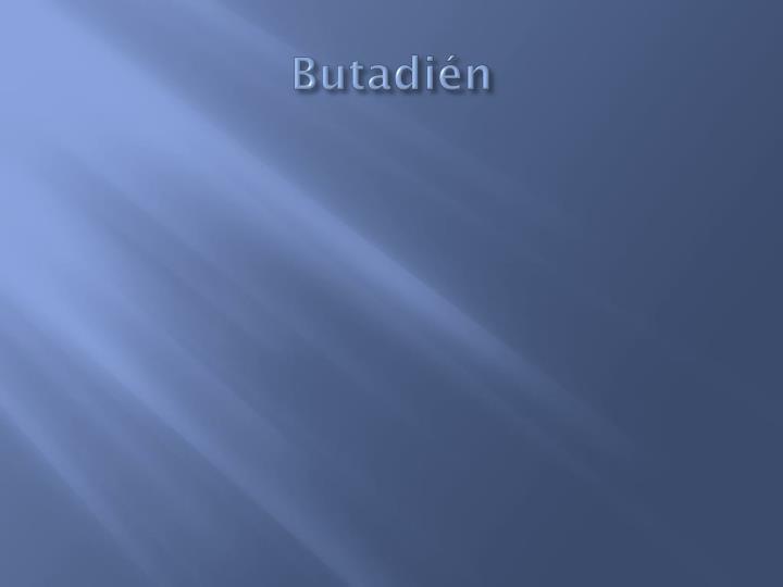 Butadién