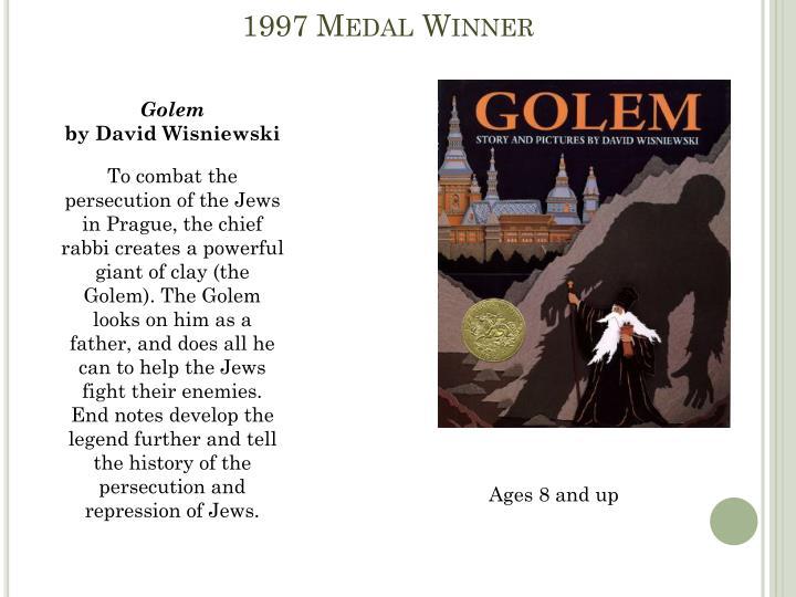 1997 Medal Winner