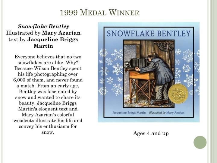 1999 Medal Winner