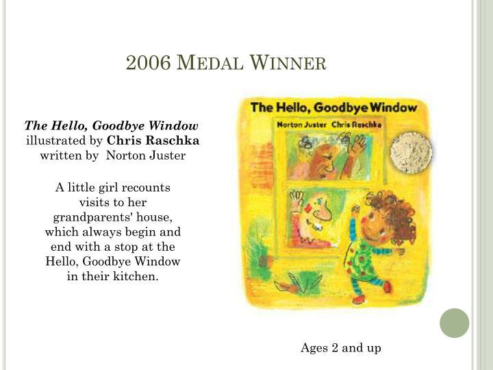 2006 Medal