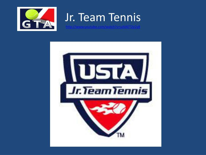 Jr. Team Tennis