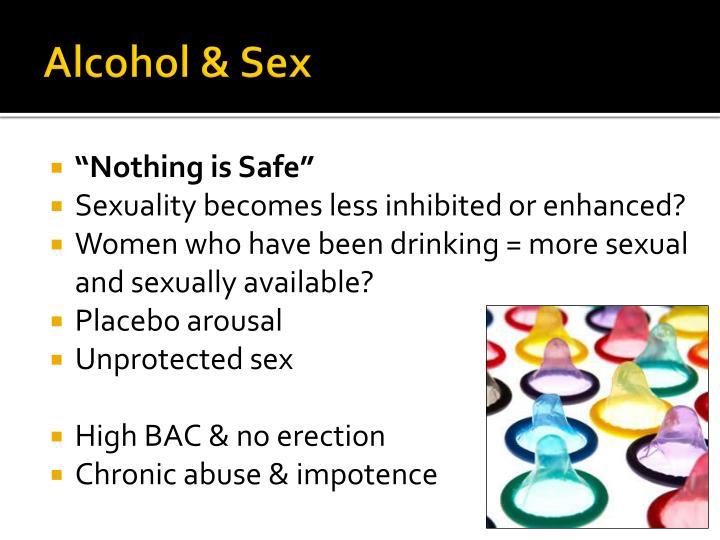 Alcohol & Sex
