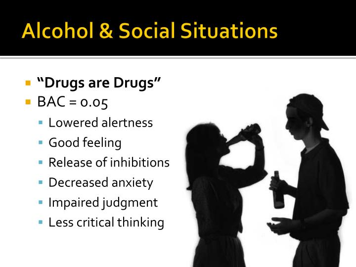 Alcohol & Social Situations