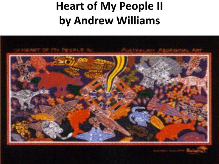 Heart of my people ii by andrew williams