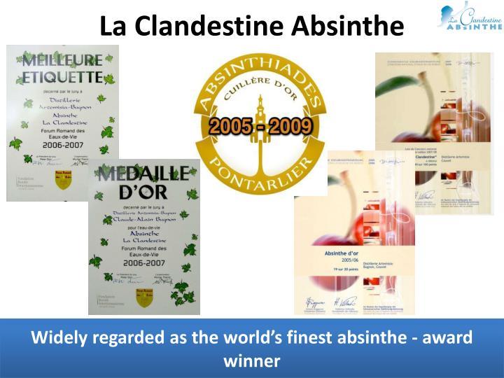 La Clandestine Absinthe
