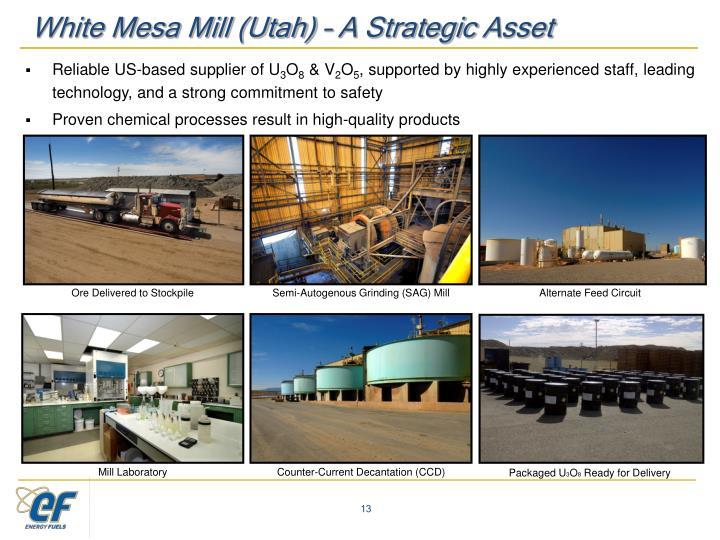 White Mesa Mill (Utah) –