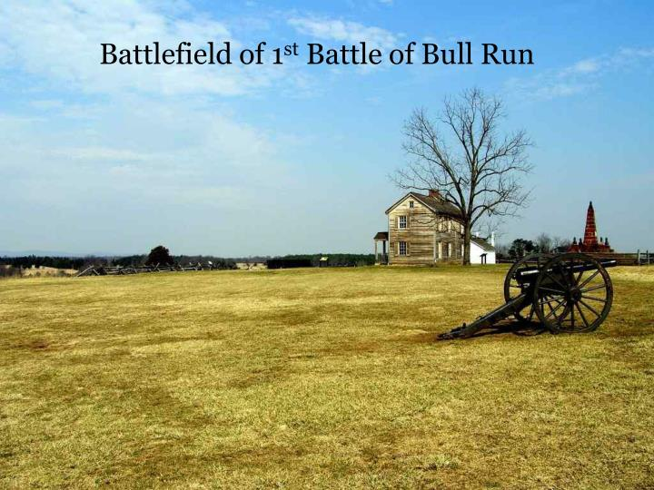Battlefield of 1