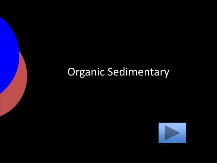 Organic Sedimentary