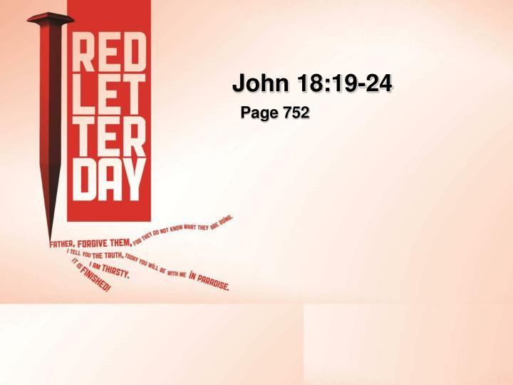 John 18:19-24