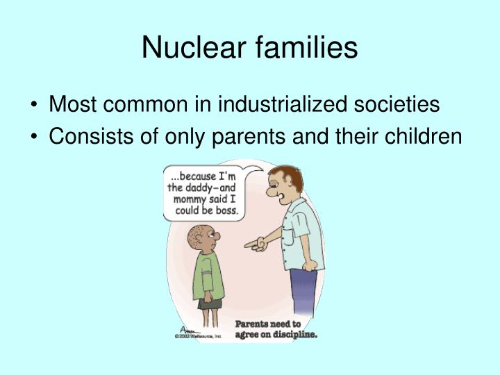 Nuclear families