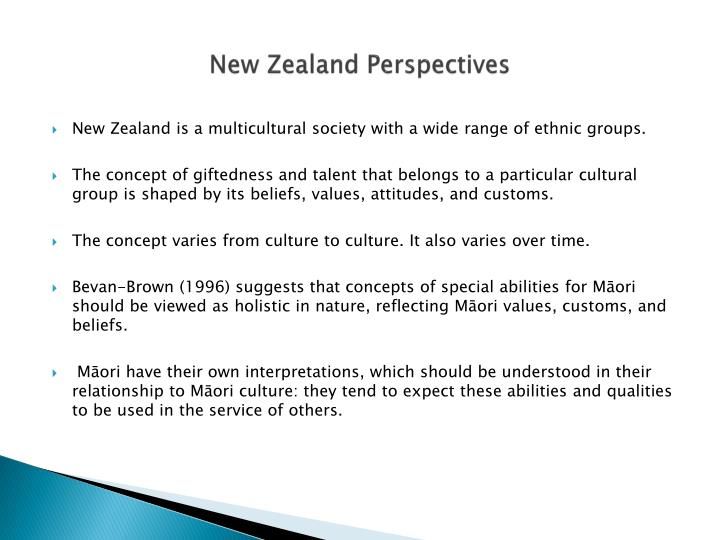 New Zealand Perspectives