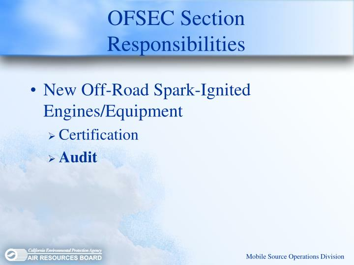 OFSEC Section