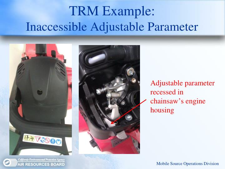 TRM Example: