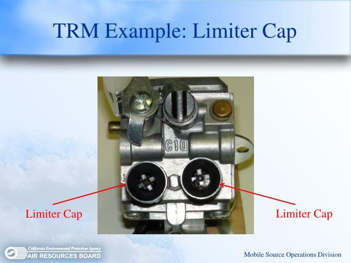 TRM Example: Limiter Cap