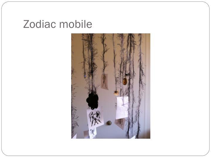 Zodiac mobile