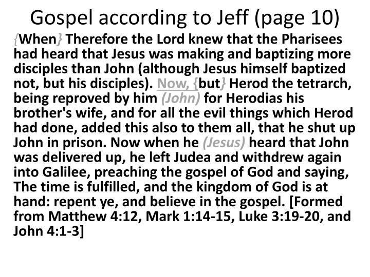 Gospel according to jeff page 10