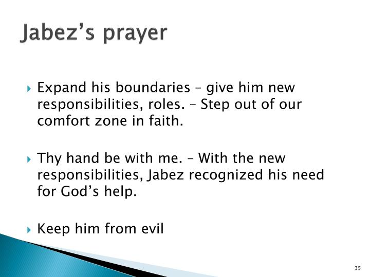 Jabez's