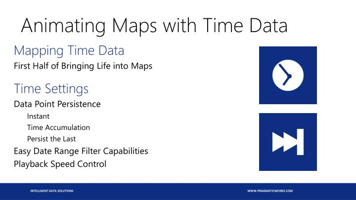 Animating Maps with Time Data