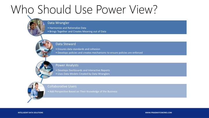 Who Should Use Power View?