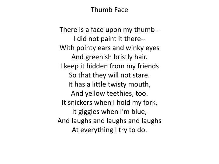 Thumb Face
