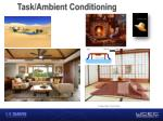 task ambient conditioning