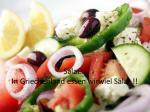 salat in griechenland essen wir viel salat