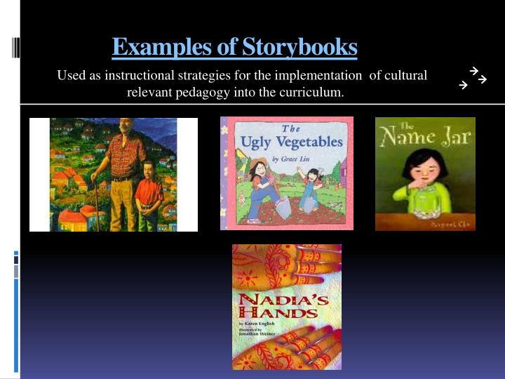 Examples of Storybooks