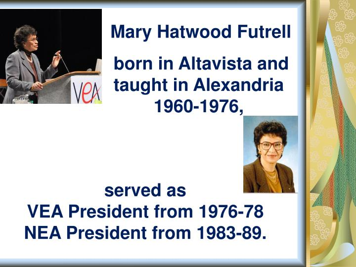 Mary Hatwood Futrell
