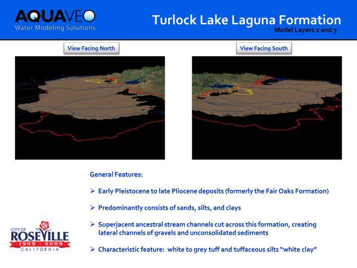 Turlock Lake Laguna Formation