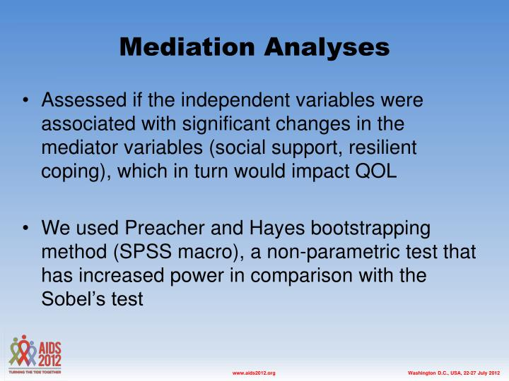 Mediation Analyses