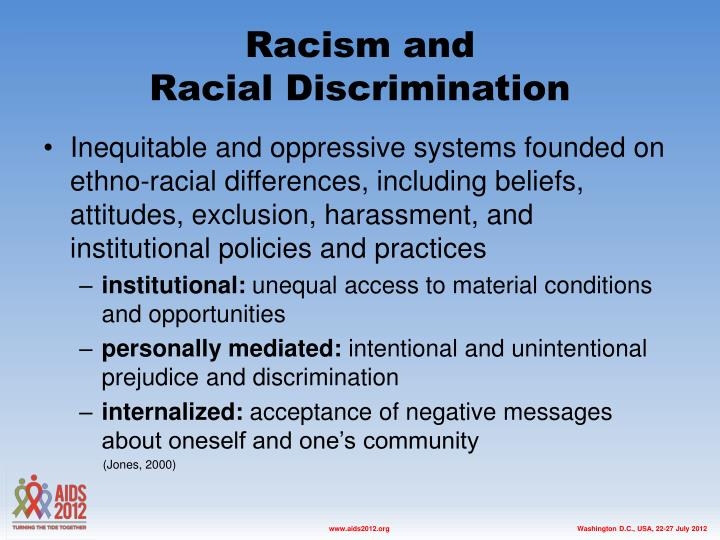 Racism and