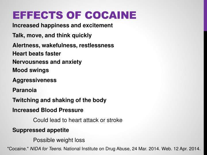 Effects of Cocaine
