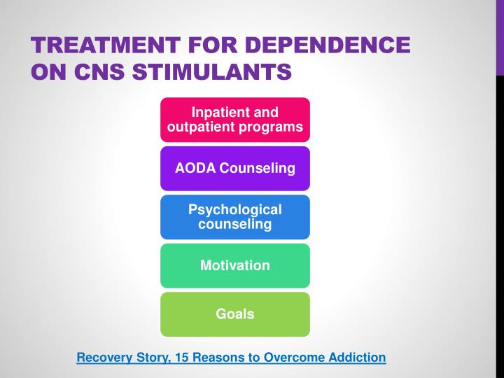 Treatment for Dependence