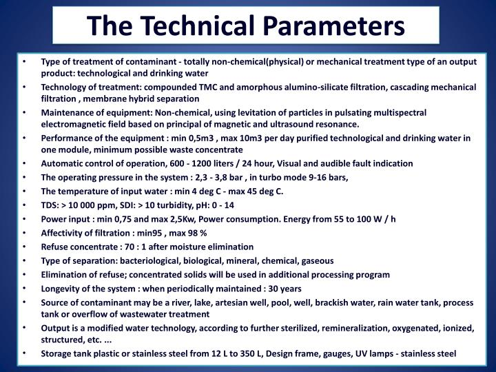 Ppt Thasms Aq3 Purewatersystem Device For Cleaning And