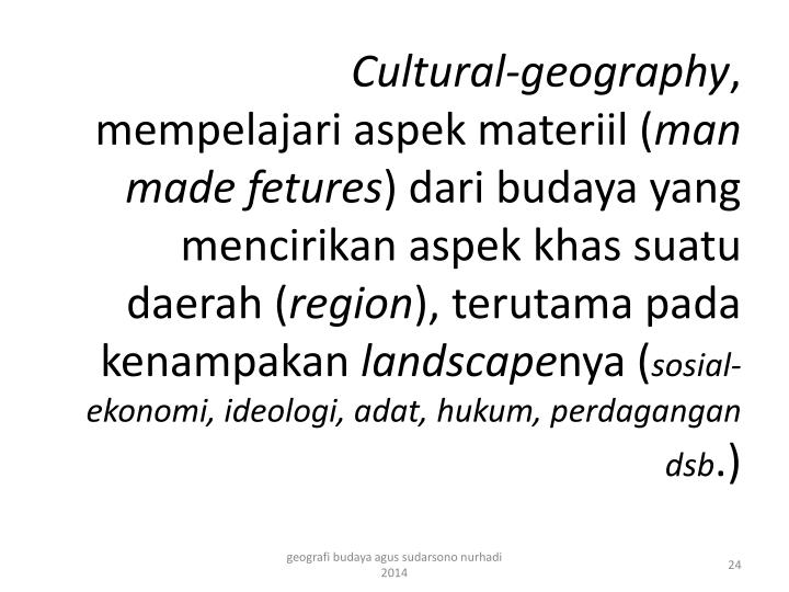 Cultural-geography