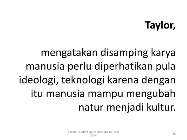 Taylor,