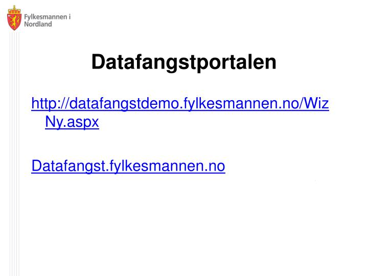 Datafangstportalen