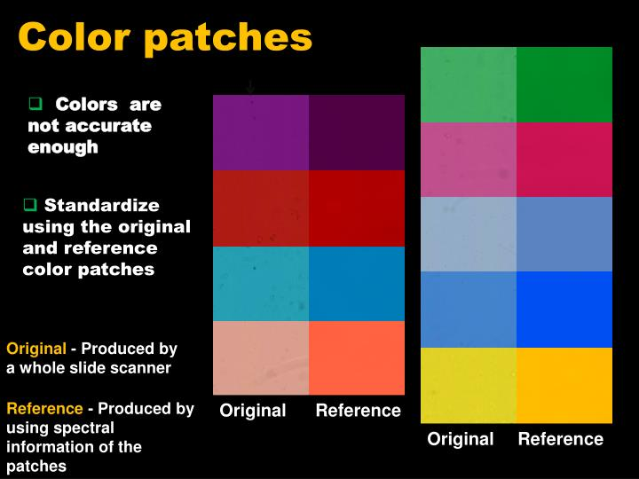 Color patches