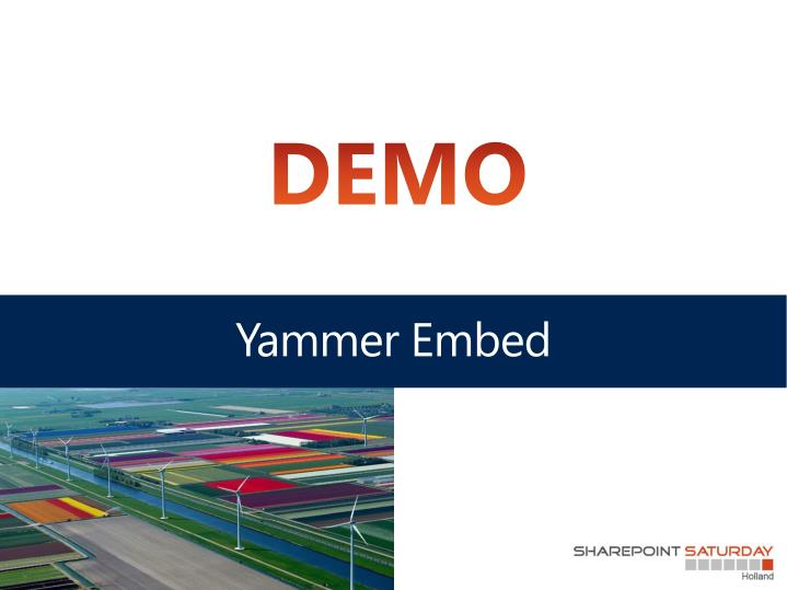 Yammer Embed