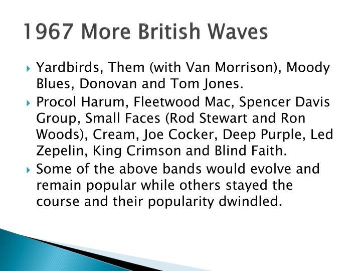 1967 More British Waves