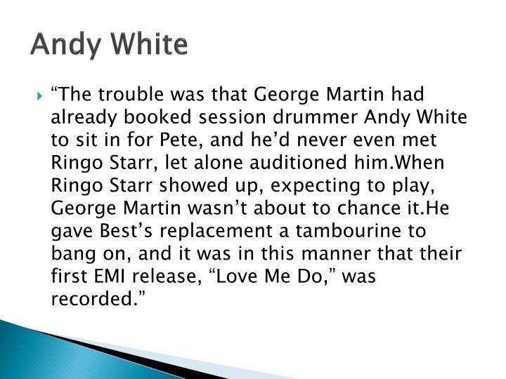 Andy White