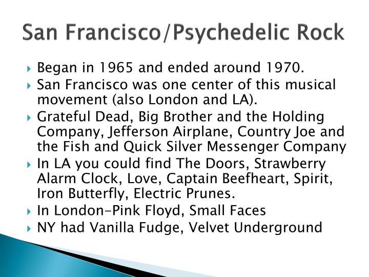San Francisco/Psychedelic Rock