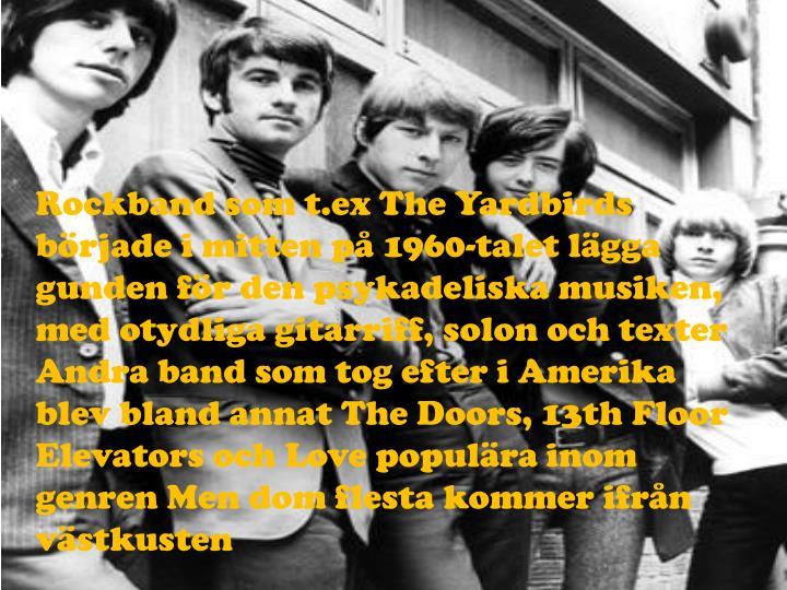Rockband som