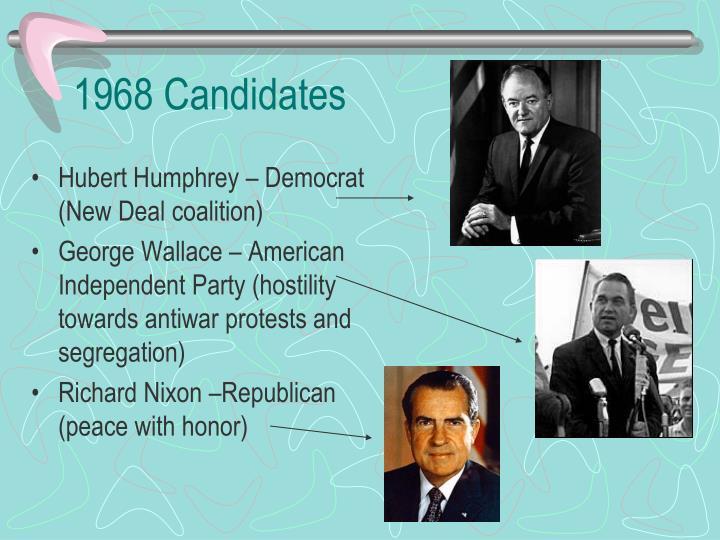 1968 Candidates