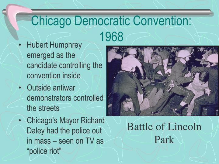 Chicago Democratic Convention: 1968